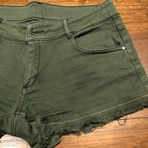 Pants - Khaki Jean Shorts